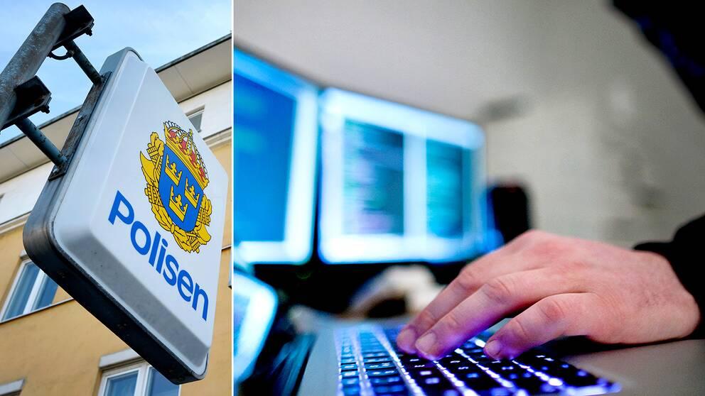 Mannen åtalas misstänkt för omfattande data intrång i polisens register.