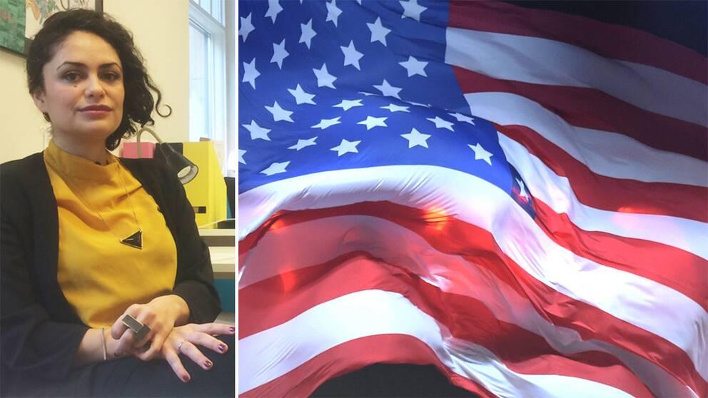 Armina Etminan tycker att USA:s nya visumregler misstänkliggör individer.