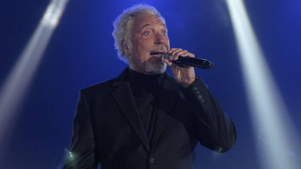 Exklusiv Tom Jones konsert i Uppsala | SVT Nyheter