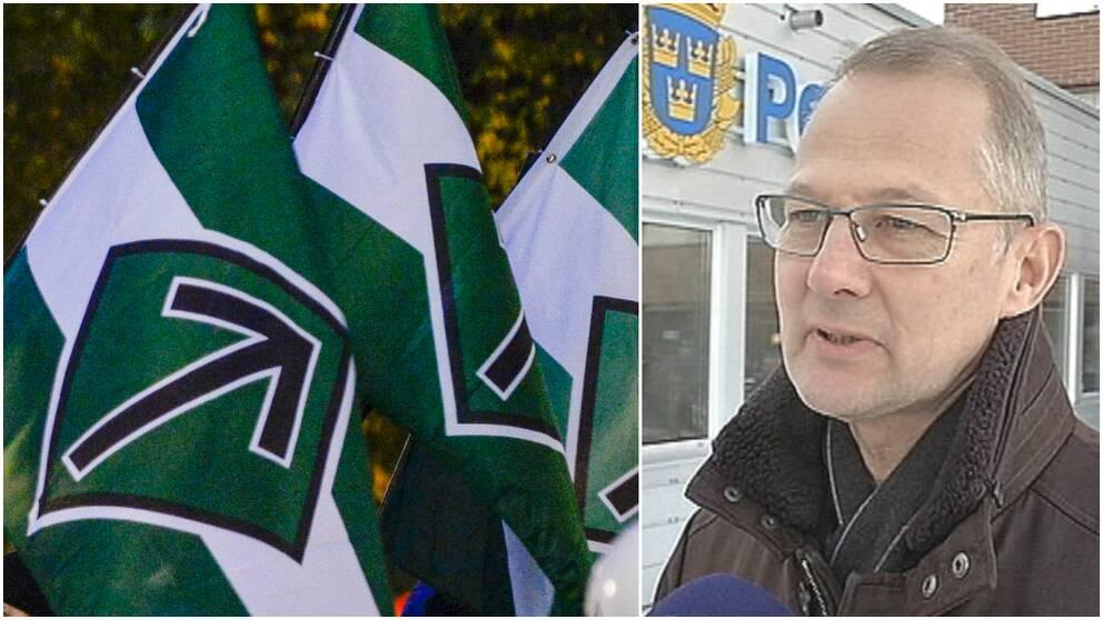 NMR, Nordiska motståndsrörelsen, Peder Jonsson, polis, Umeå