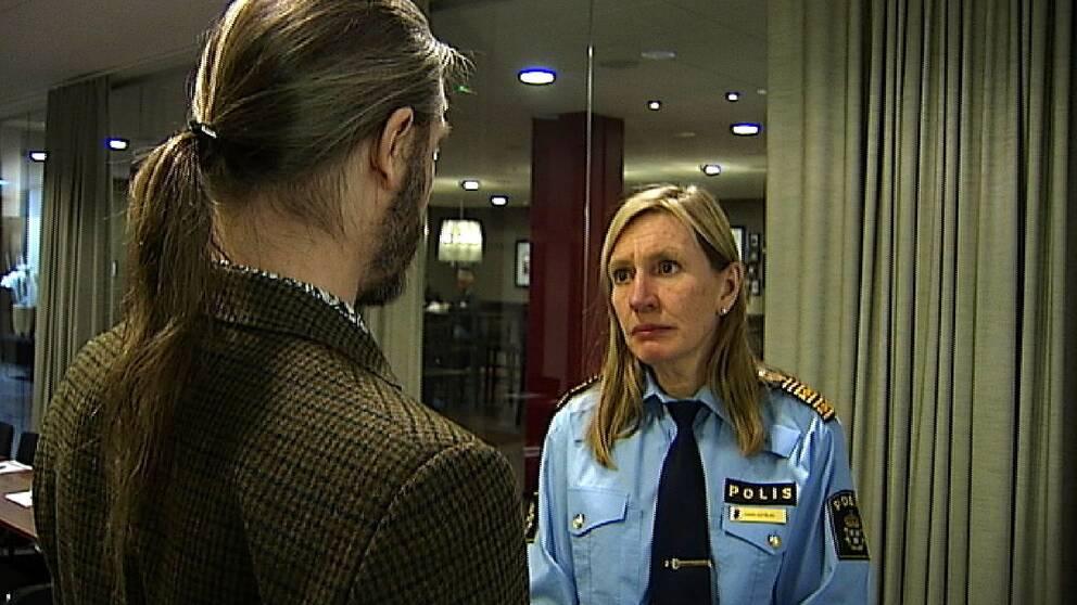 Regionpolischef Carin Götblad menar att fallet har skadat myndigheten negativt.