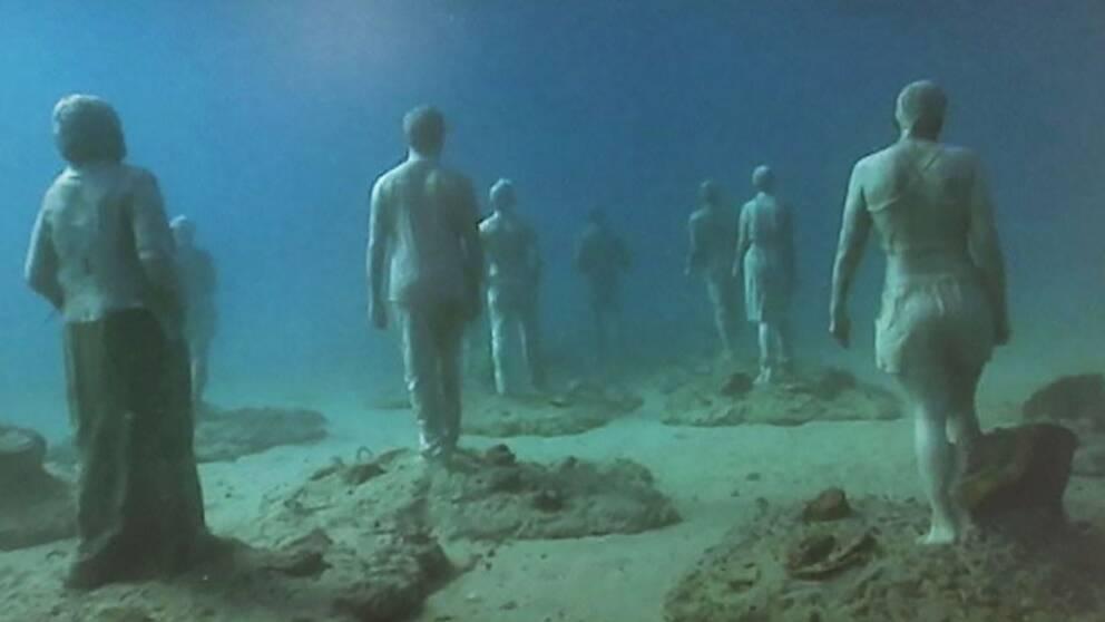Undervattensstatyer