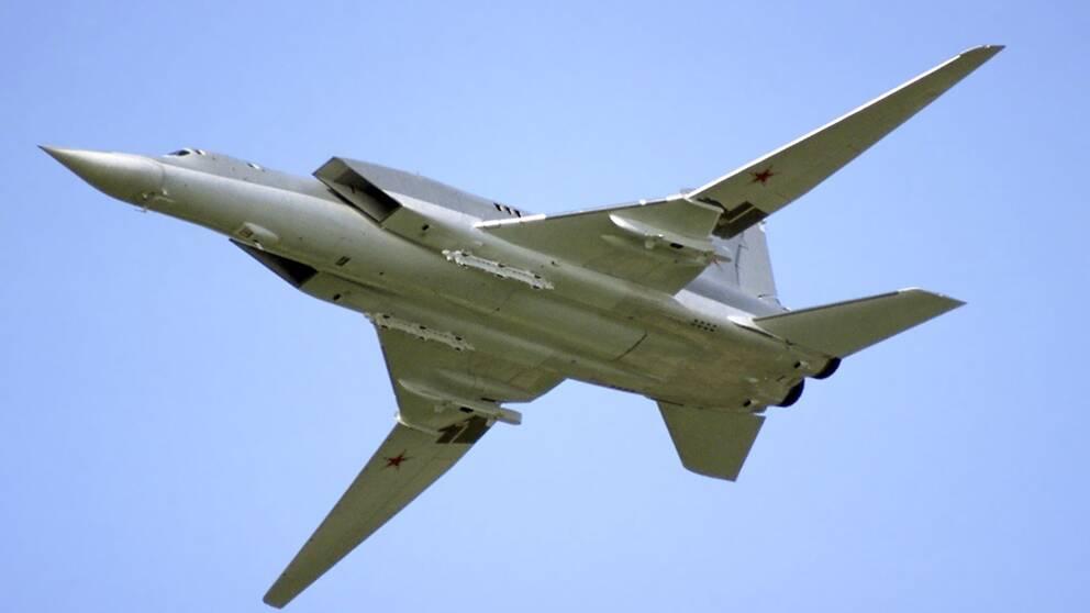 Ryskt bombplan av typen Tupolev 22M-3.
