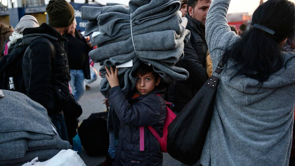 Antalet migranter har minskat rejalt