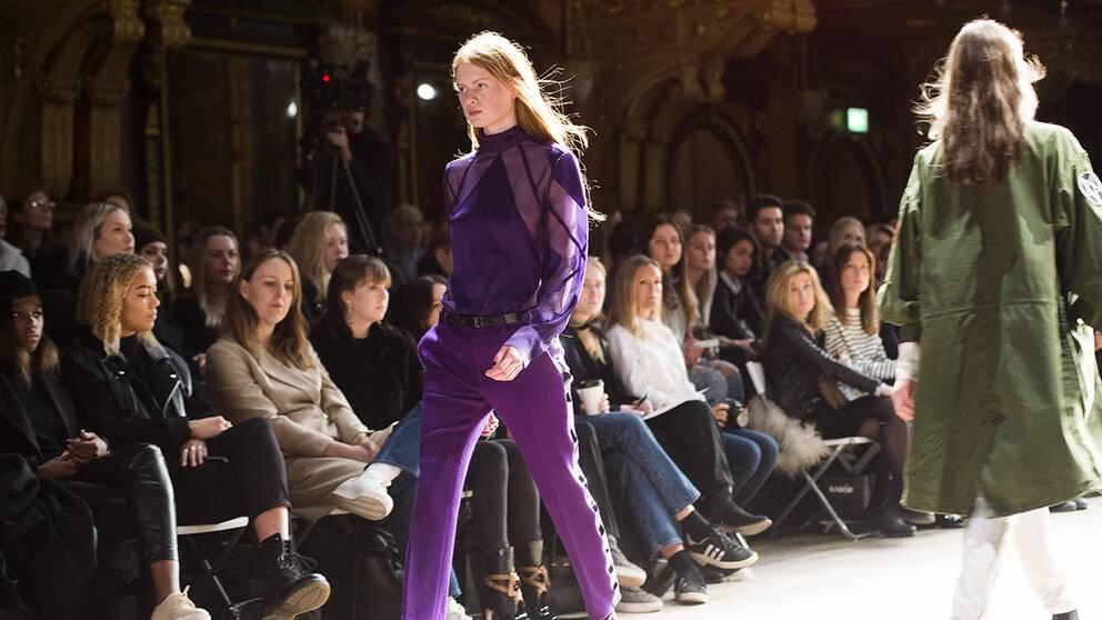 Whyreds visning som öppnade årets Fashion Week, på Berns i Stockholm.