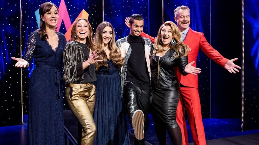 Programledare i Melodifestivalen