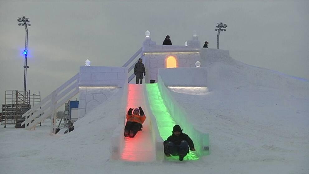 Nya isborgen i Luleå
