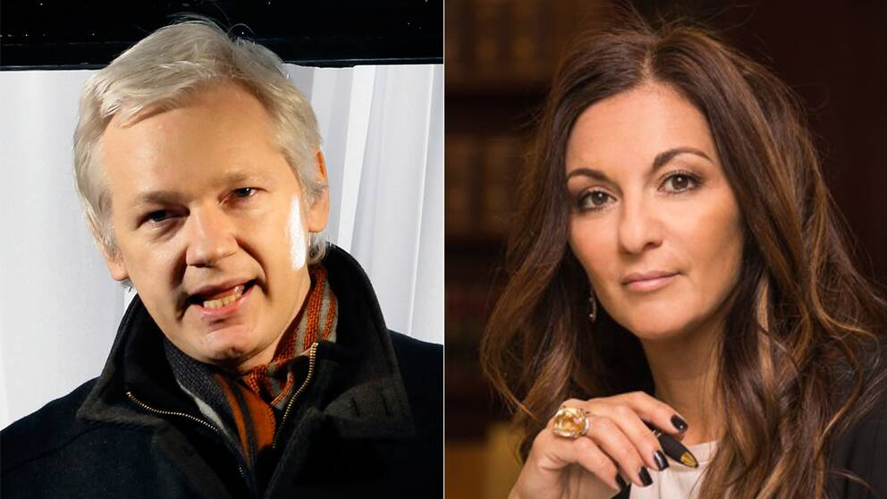 Julian Assange, Elisabeth Massi Fritz.