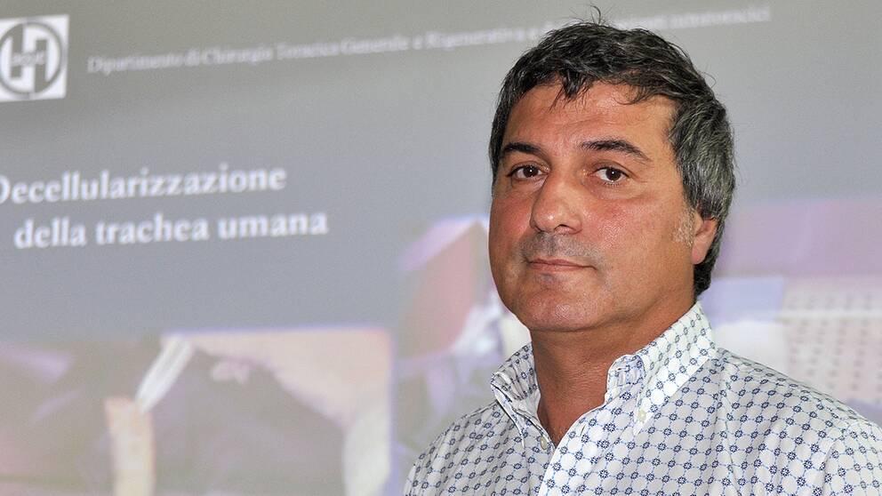 KI-kirurgen Paolo Macchiarini misstänks för bedrägeri i Italien.