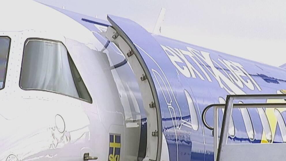 Direktflyg till Visby