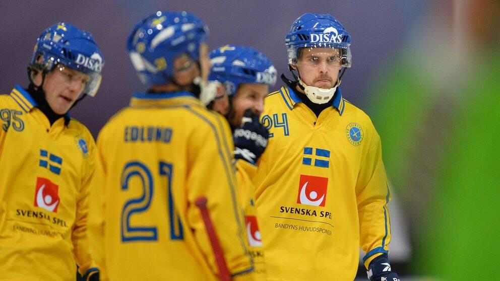 Sverige–Finland, bandy-VM.