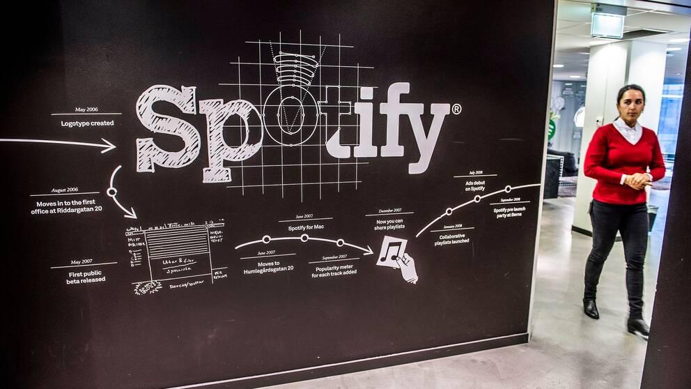 Bild från Spotifys kontor.