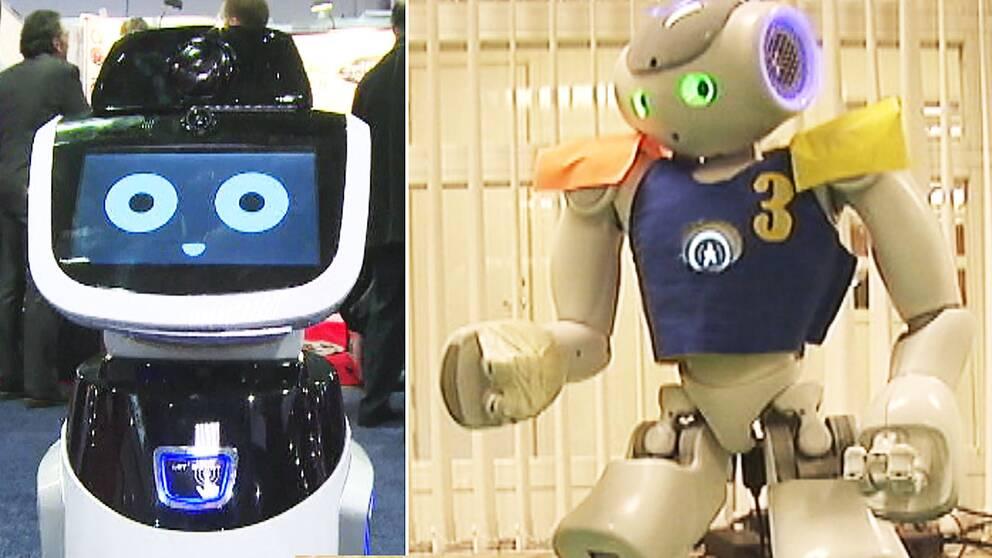 Jobben som snart ersatts av robotar
