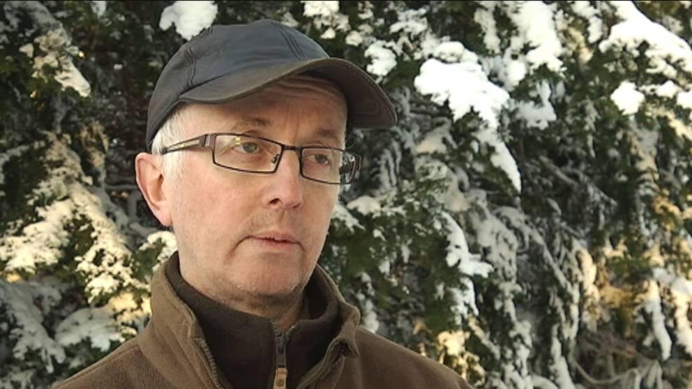 Porträttbild Gunnar Glöersen, rovdjursansvarig Svenska Jägareförbundet