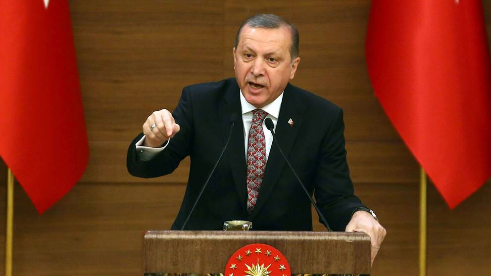 Turkeits president Recep Tayyip Erdogan.