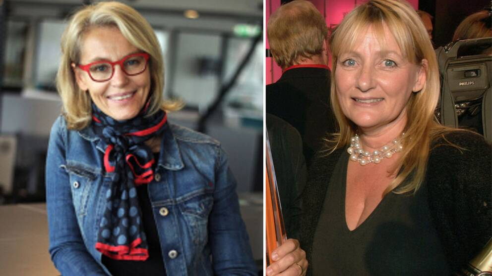 Ylva M Andersson och Mette Friberg.