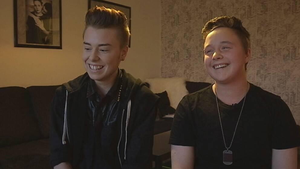 Kevin och Julian fann varandra när de gick igenom en könskorrigering.