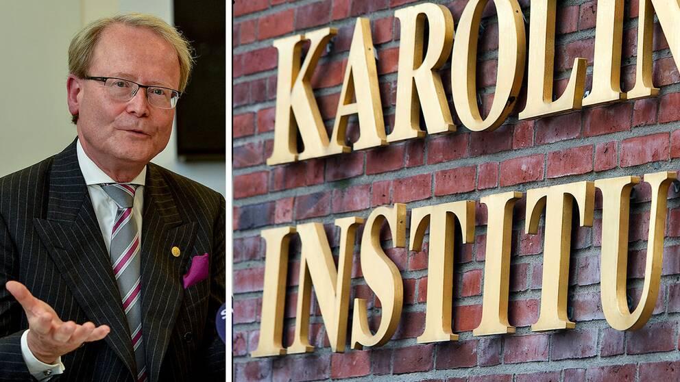 KI-rektorn Anders Hamsten ställer sin plats till förfogande