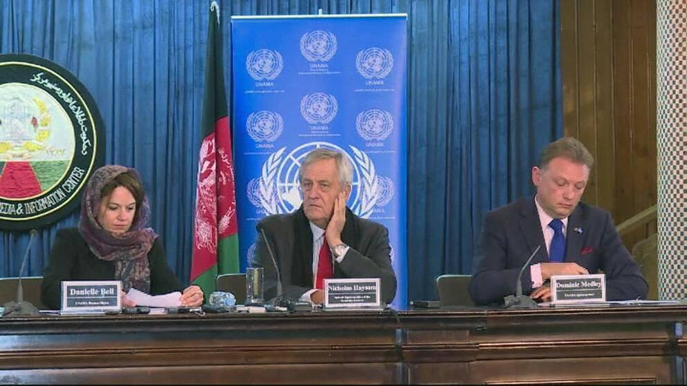 FN-rapport visar ökade civila offer i Afghanistan
