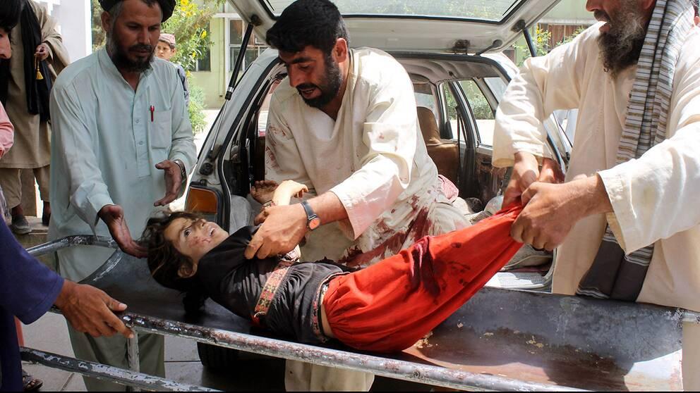 Dystert rekord i Afghanistan – allt fler civila dödas