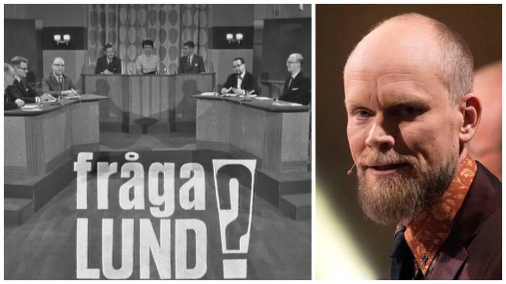 Kristian Luuk, 49, ska återuppliva SVT-klassikern Fråga Lund.