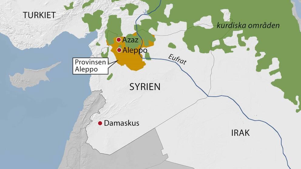 Fortsatta strider mellan kurder