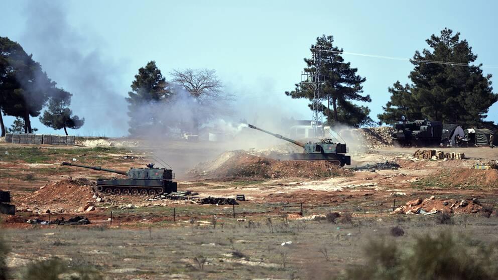 Turkiskt artilleri