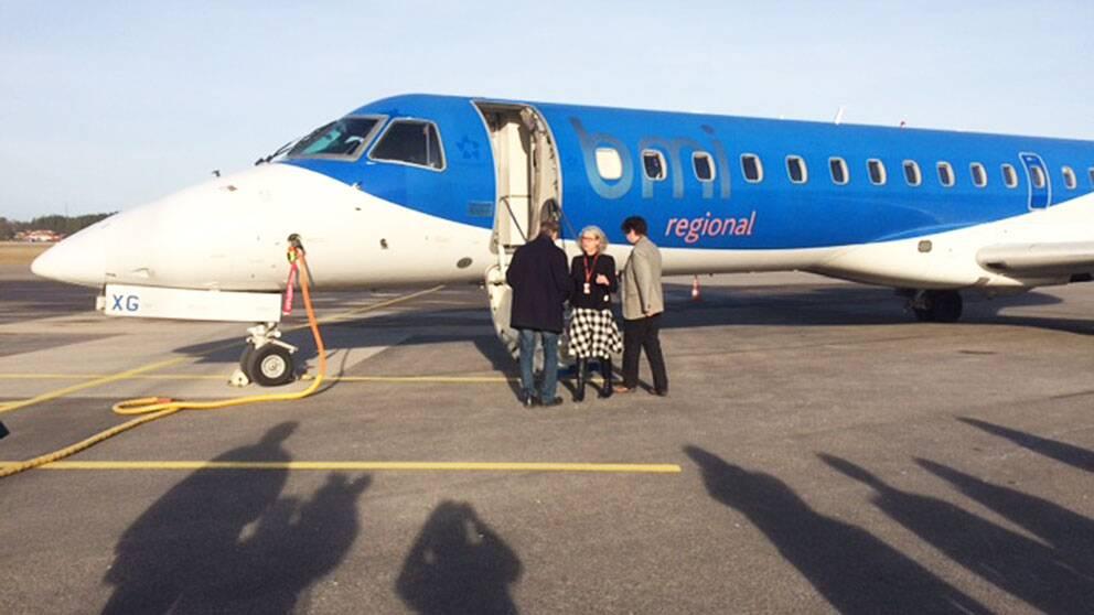 Norrköpings flygplats ny flyglinje BMI München