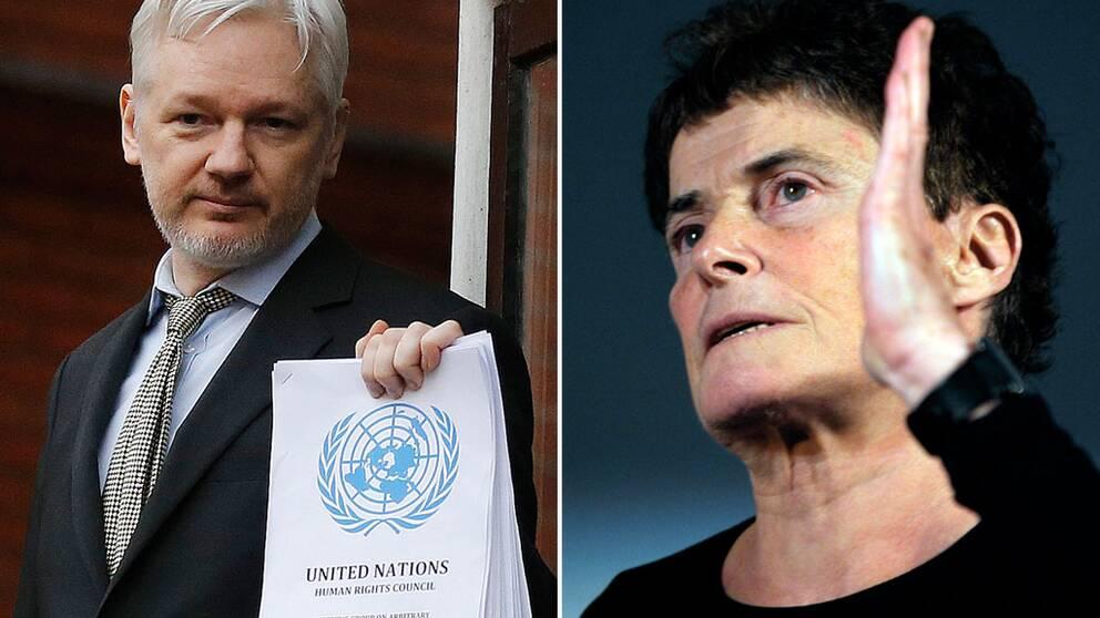 Julian Assange Maj Wechselmann