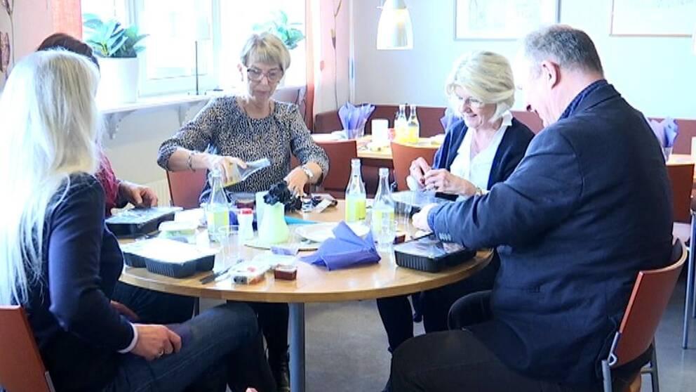 Äldrenämnden i Jönköping testade maten som de äldre i kommunen äter.