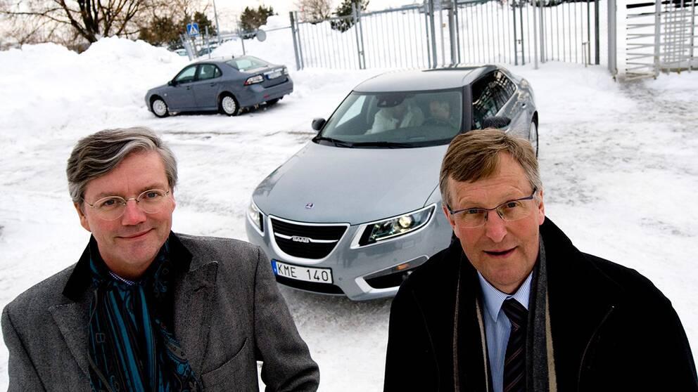 Victor Muller och Jan Åke Jonsson.