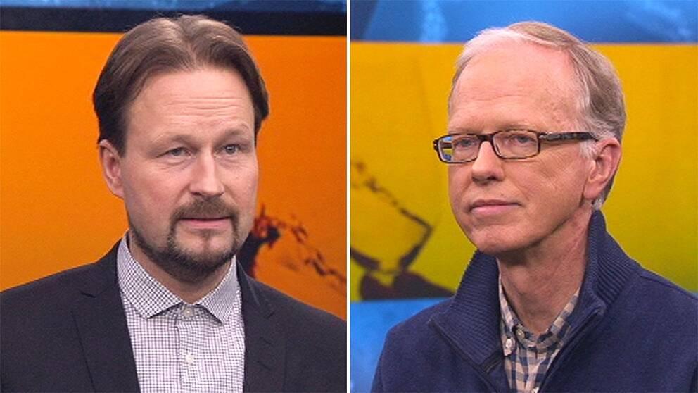 Fredrik Nyström och Sven Andrásson.
