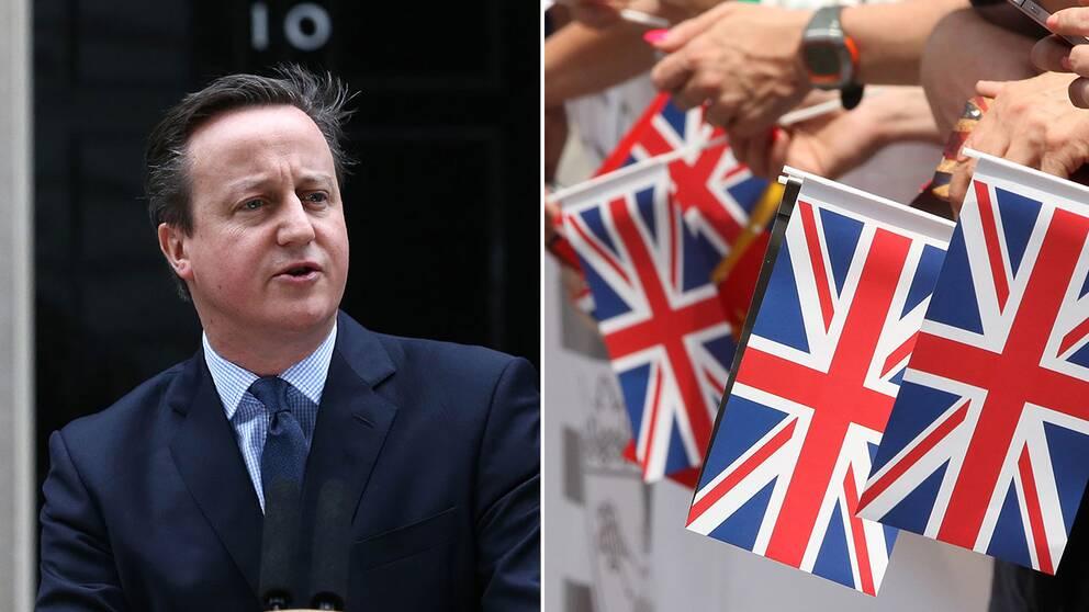 Premiärminister David Cameron meddelade på lördagen att Storbritannien röstar om EU-medlemskap 23 juni.