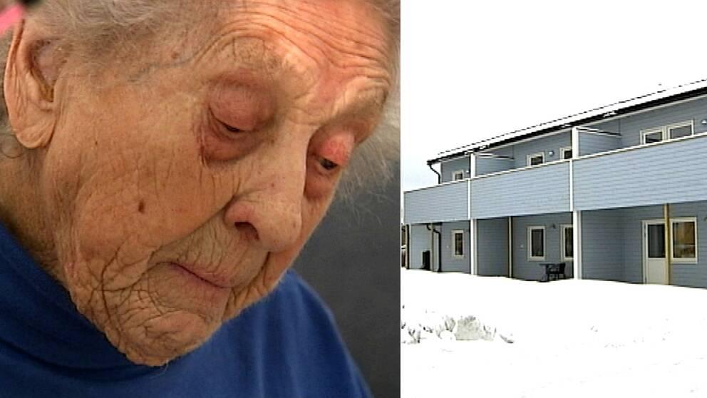 Barbro Svedberg bor i Strömsunds nyaste hyreshus