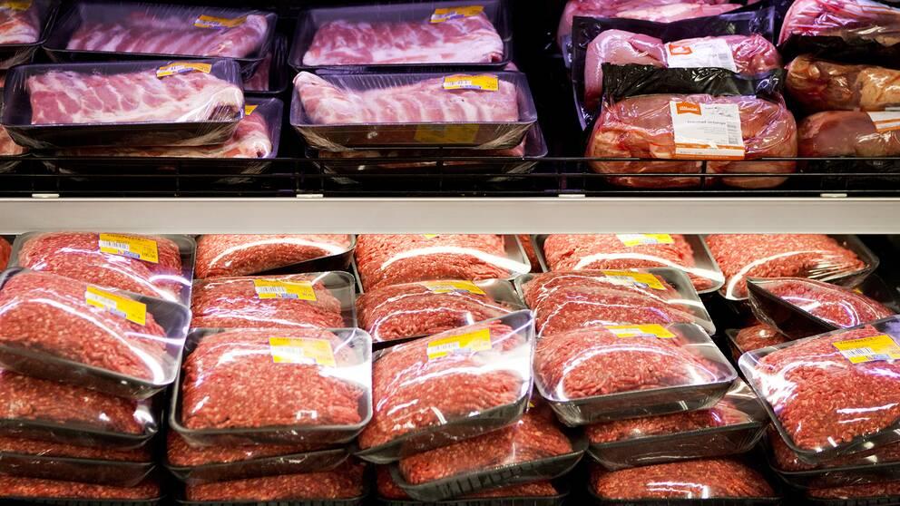 SVT Nyheter låt samtliga riksdagspartier uttala sig om hur de ser på köttkonsumtion.