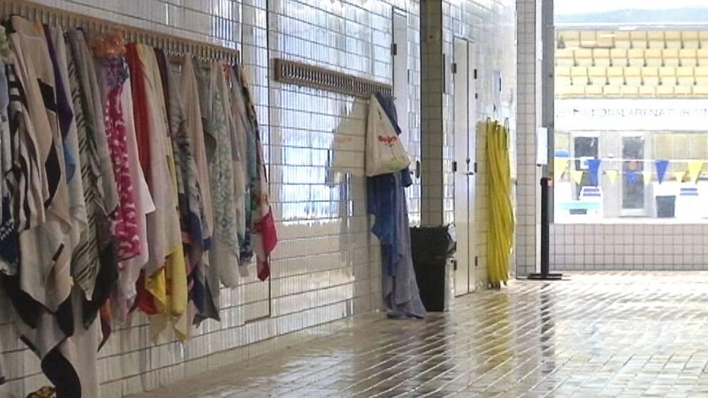 Eriksdalsbadet, handdukar
