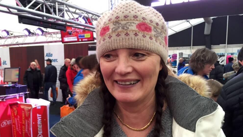 Harriet Sundholm från Finland åker Kortvasan