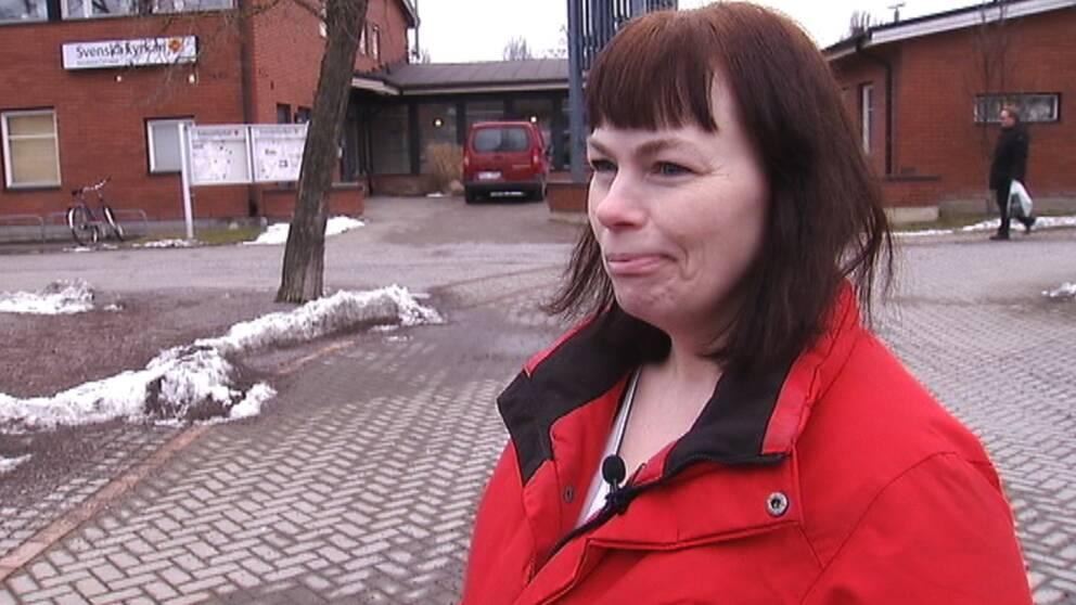 Anonyma människor donerade 16.000 kronor till Jenny Lestar.