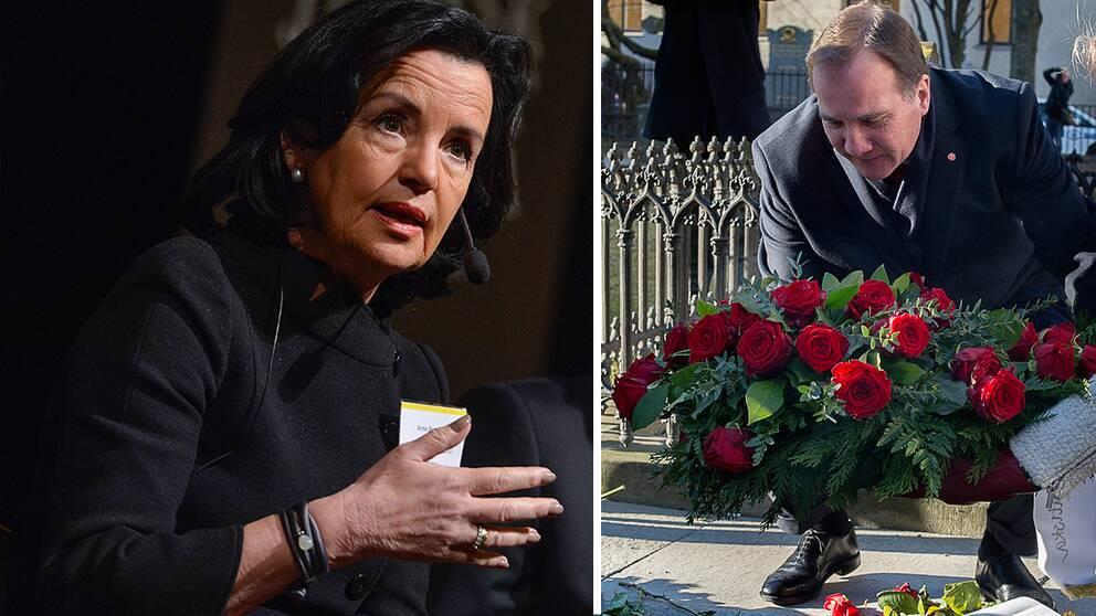 Statsminister Stefan Löfvens uttalande om att Christer Pettersson mördade Olof Palme kritiseras av Anne Ramberg, generalsekreterare för advokatsamfundet.