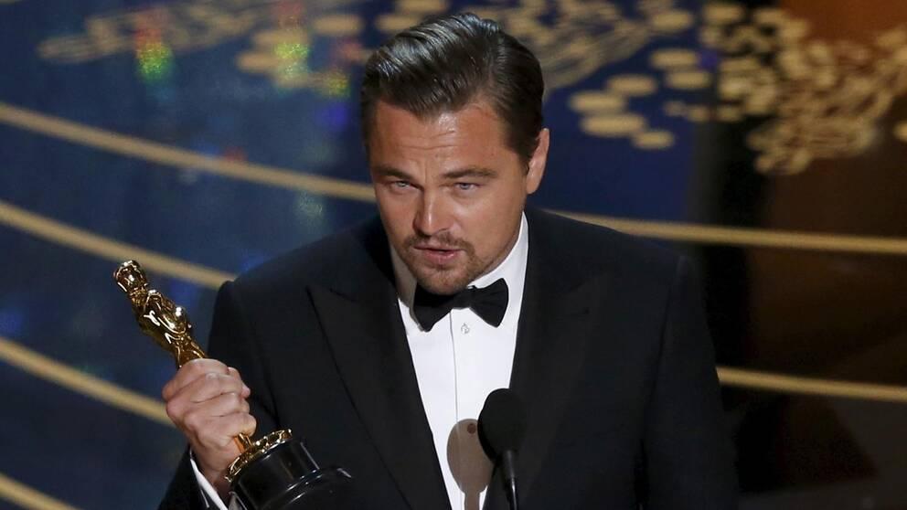 Så fick han sin Oscar tillslut, Leonardo DiCaprio.