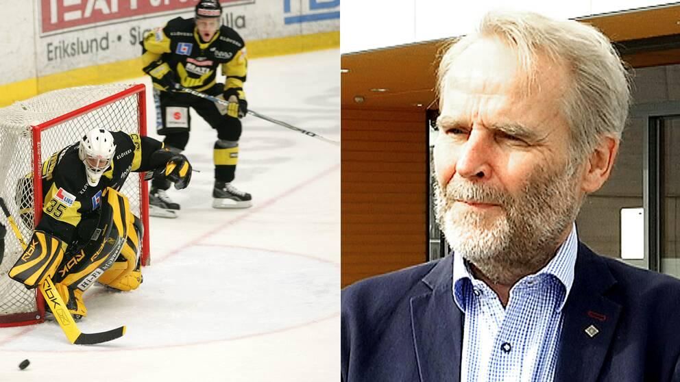 VIK Hockey och klubbens ordförande.