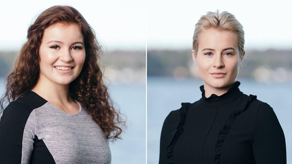 Alexandra G. Andresen och Katharina G. Andresen.