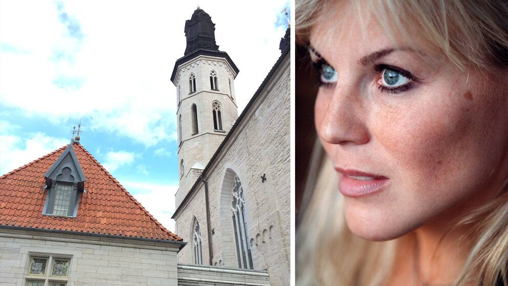 Josefin Nilsson och Visby domkyrka
