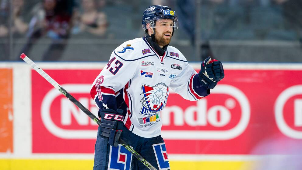 Nichlas Hardt gjorde 1–0 för Linköping.