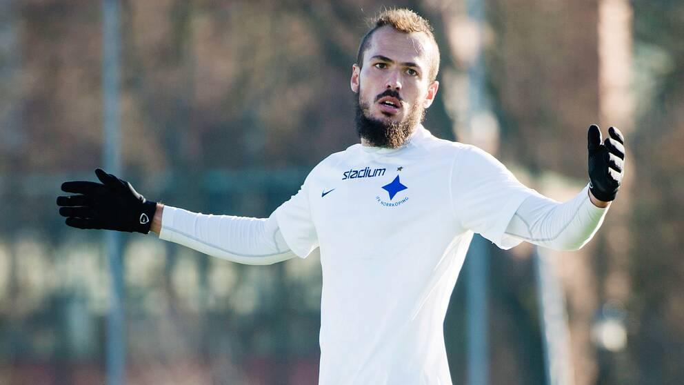 Emir Kujovic nätade och tog IFK Norrköping till kvartsfinal i Svenska cupen.