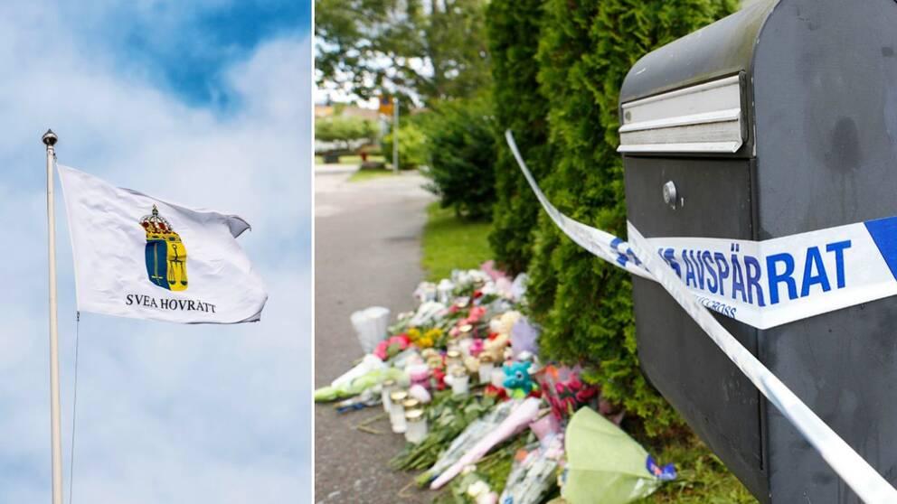 Hovrättsförhandlingen mot Bålstapappan inleds i Svea hovrätt.