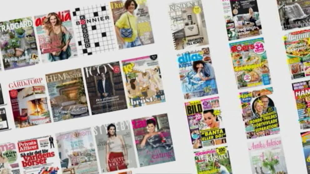 De stora tidskriftkoncernerna Aller Media och Bonnier tidskrifter har skrivit om sina frilansregler.
