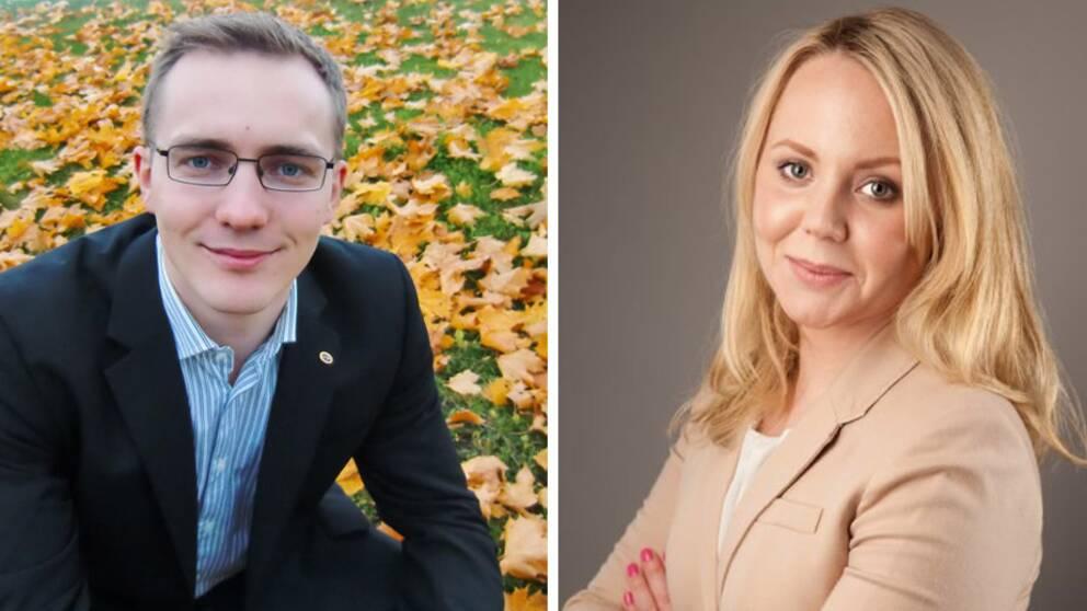 Lydiah Wålsten TIMBRO och Tomas Klingström SLU och TIMBRO