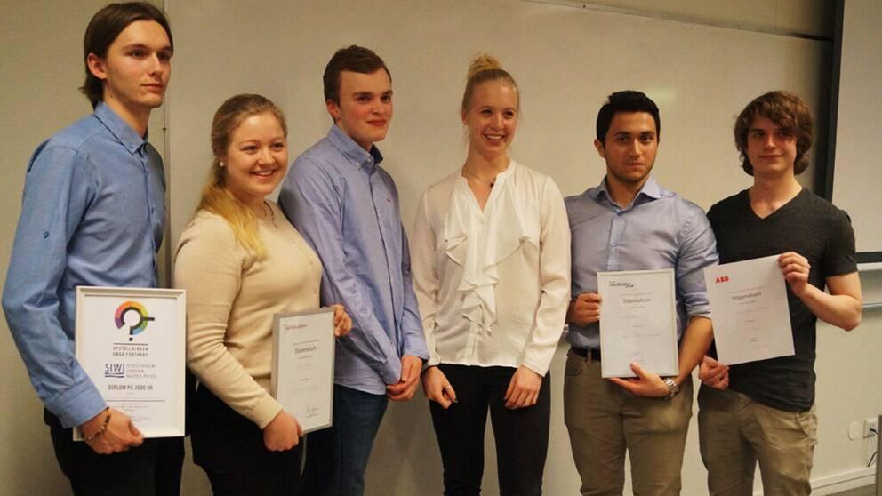 Utställningen i Borlänge vanns av Frida Knutsson från Hagströmska gymnasiet Falun, Mostafa Al-Janabi och Oliva Norling från Lugnetgymnasiet Falun och Niklas Samluelsson från Martinkockgymnasiet i Hedemora.