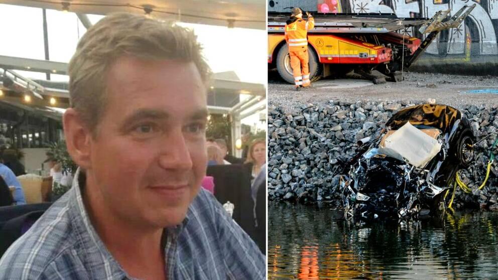 Kent Uddén blev vittne till dödskraschen på motorvägsbron.